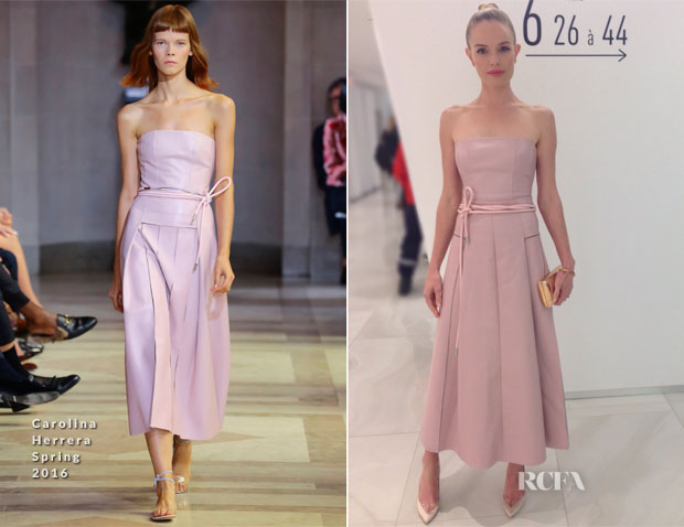 Kate Bosworth In Carolina Herrera - MICOM Pre-Opening Screening of 'The Art Of More'