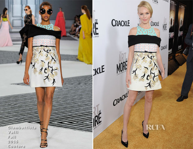 Kate Bosworth In Giambattista Valli Couture -  'The Art Of More' LA Premiere