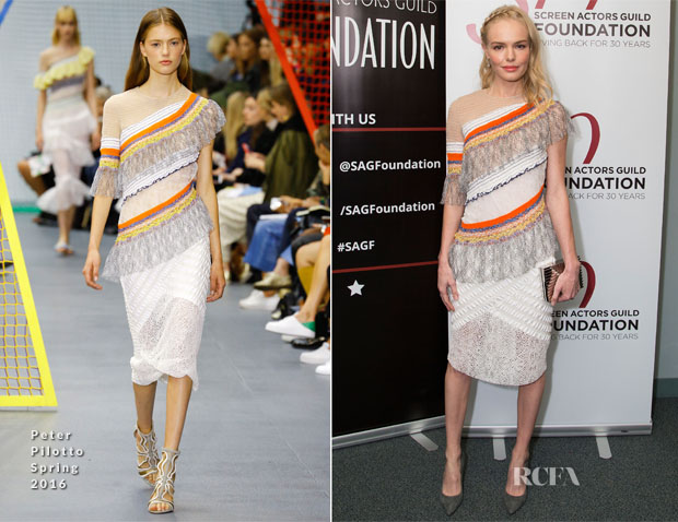 Kate Bosworth In Peter Pilotto - SAG Foundation's 'Conversations' Series 'The Art Of More'