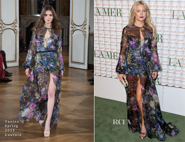 Kate Hudson In Yanina Couture - La Mer Celebrates 50 Years Of An Icon