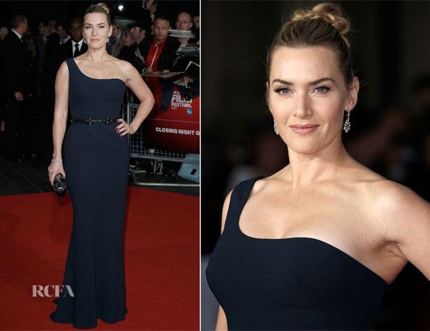 Kate Winslet In Alexander McQueen - 'Steve Jobs' London Film Festival Closing Night Premiere
