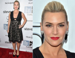 Kate Winslet In Valentino - 'Steve Jobs' New York Film Festival Premiere