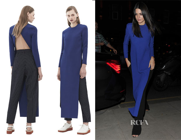 Kendall Jenner's Solace London Ultramarine Lin Top