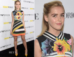 Kiernan Shipka In Mary Katrantzou - Teen Vogue Young Hollywood Party