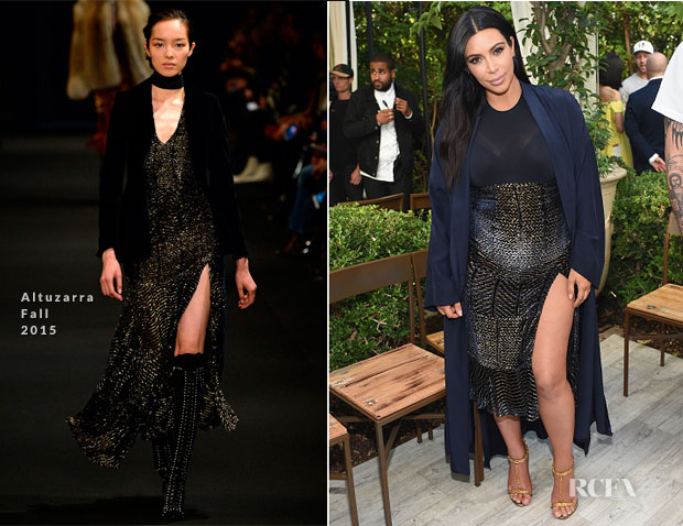 dress style kim kardashian vogue