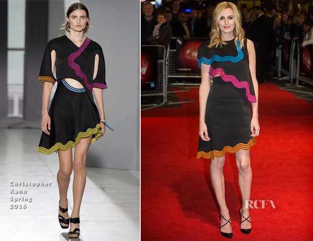 Laura Carmichael In Christopher Kane - 'Burn, Burn, Burn' London Premiere