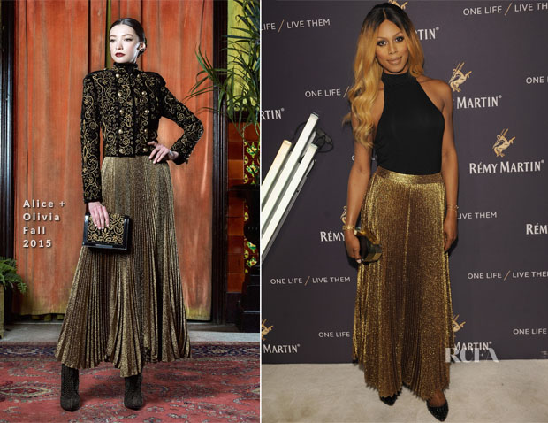 Laverne Cox In Alice + Olivia - One Life Live Them