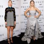 Lea Seydoux In Miu Miu - 'Spectre' Amsterdam Photocall & Premiere