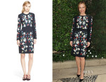 Leslie Mann's Erdem Evita Dress