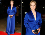Meryl Streep In Lanvin - 'Suffragette' London Film Festival Opening Night Gala Premiere