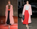 Miranda Kerr In Marni, Jonathan Simkhai - Out In Paris