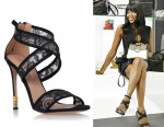 Naomi Campbell's Kurt Geiger Covent Sandals