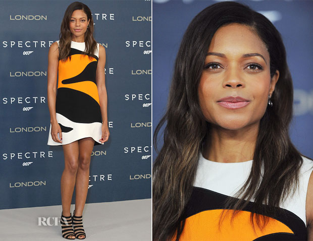 Naomie Harris In Christian Dior -  'Spectre' London Photocall