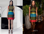Naomie Harris In Mary Katrantzou - Sony Technology 'Made For Bond' Event
