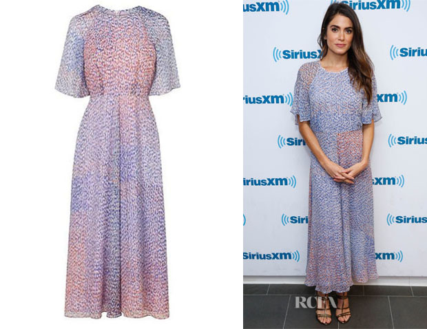 1bdfc7521355 Nikki Reed s L.K. Bennett Madison Dress - Red Carpet Fashion Awards