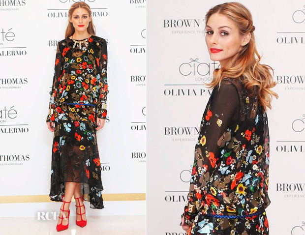 Olivia Palermo In Preen - Olivia Palermo x Ciate London Launch