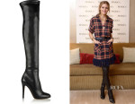 Olivia Palermo's Toni Over-The-Knee  Boots