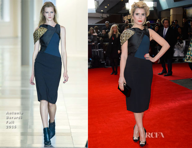 Paloma Faith In Antonio Berardi - 'Youth' London Film Festival Premiere
