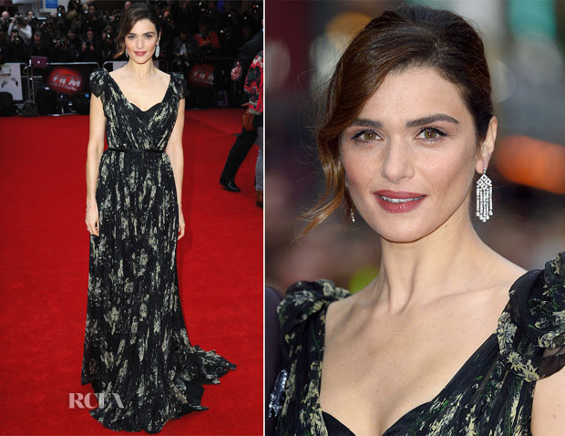 Rachel Weisz In Alexander McQueen - 'The Lobster' London Film Festival Premiere