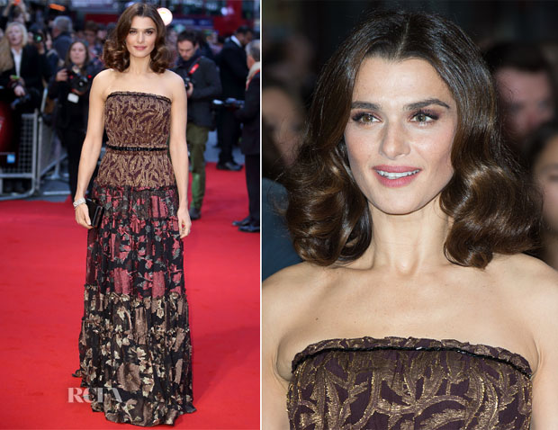 Rachel Weisz In Lanvin - 'Youth' London Film Festival Screening