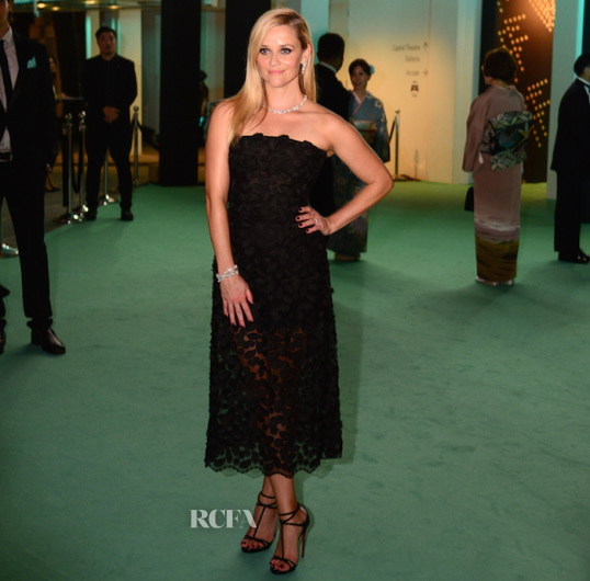 Reese Witherspoon In Dolce & Gabbana - Tiffany & Co Gala Dinner