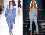Rihanna In Marques'Almeida - The Voice