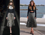 Riley Keough In Emanuel Ungaro -  'The Girlfriend Experience' MIPCOM Photocall