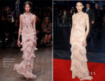 Rooney Mara In Alexander McQueen - 'Carol' London Film Festival Screening