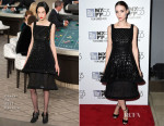 Rooney Mara In Chanel Couture - 'Carol' New York Film Festival Premiere