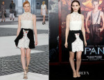 Rooney Mara In Giambattista Valli Couture - 'Pan' New York Premiere