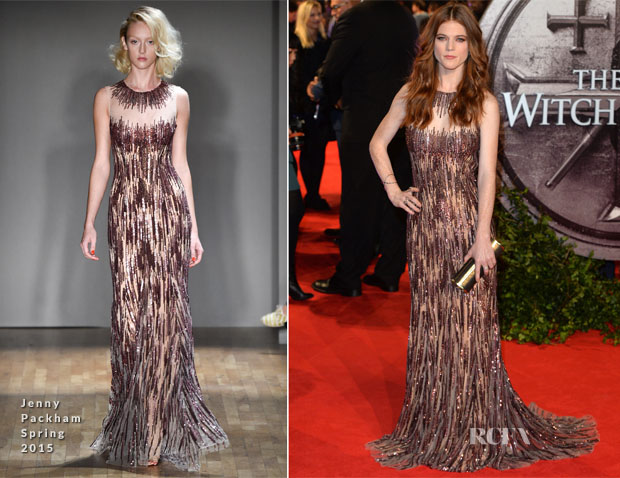 Rose Leslie In Jenny Packham - 'The Last Witch Hunter' London Premiere