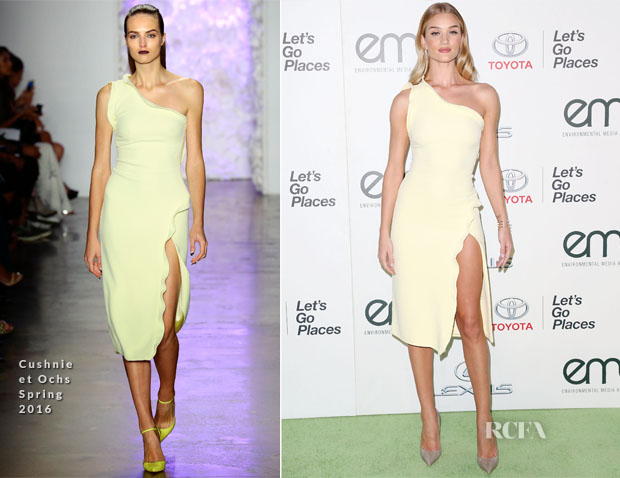 Rosie Huntington-Whiteley In Cushnie et Ochs - 25th Annual EMA Awards