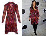 Sanaa Lathan's Diane von Furstenberg Catherine Two dress