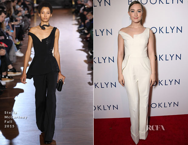 Saoirse Ronan In Stella McCartney -  'Brooklyn' LA Premiere