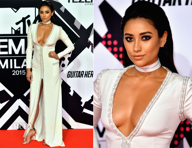 Shay Mitchell In Kayat - 2015 MTV EMA's