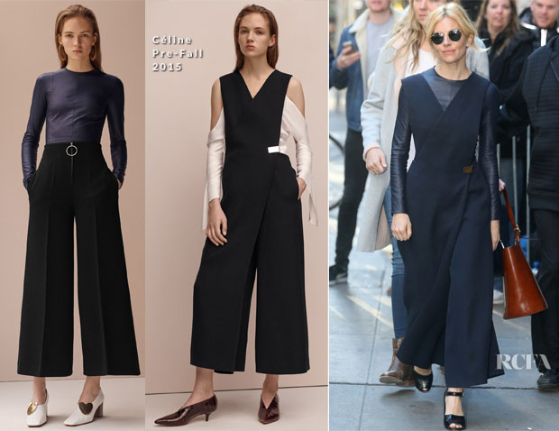 Sienna Miller In Céline - Good Morning America