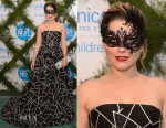 Sophia Bush In Oscar de la Renta - 2015 UNICEF Neverland Masquerade Ball