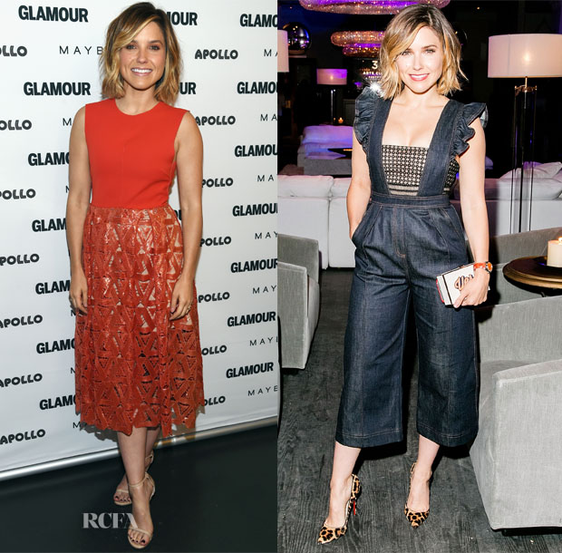 Sophia Bush In Self-Portrait - 'The Power Of An Educated Girl' Panel & Restoration Hardware Chicago Opening