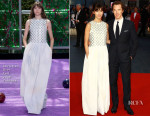 Sophie Hunter In Christian Dior Couture - 'Black Mass' London Film Festival Premiere