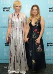 Toni Collette In Escada & Drew Barrymore In Stella McCartney - 'Miss You Already' New York Screening