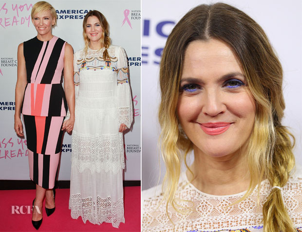 Toni Collette In Roksanda & Drew Barrymore In BCBG Max Azria - 'Miss You Already' Sydney Premiere