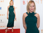 Uma Thurman In Brandon Maxwell - 'Burnt' New York Premiere