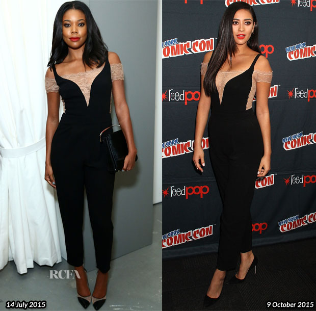 Who Wore  Noam Hanoch Better Gabrielle Union or Shay Mitchell