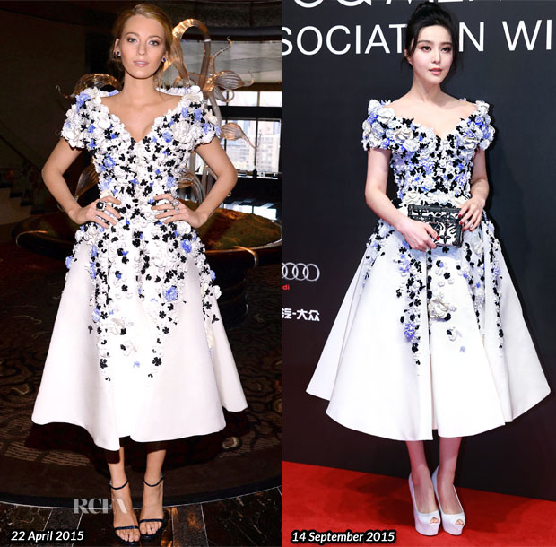 Who Wore Ralph & Russo Couture BetterBlake Lively or Fan Bingbing