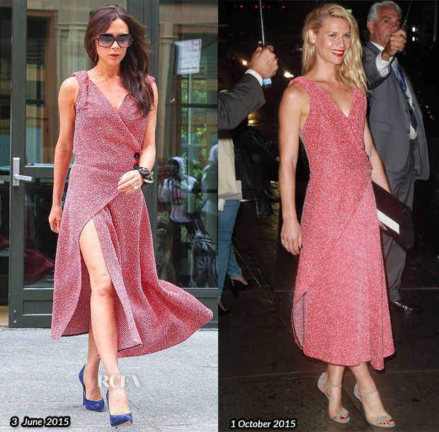 Who Wore Victoria Beckham Better Victoria Beckham or Claire Danes