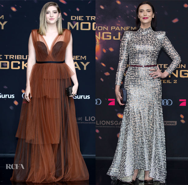 The Hunger Games: Mockingjay – Part 2\' Berlin Premiere Red Carpet ...