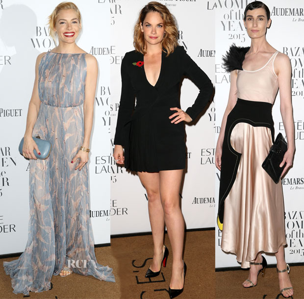 2015 Harper's Bazaar Women of the Year Awards Red Carpet Roundup