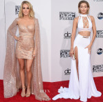 2015 American Music Awards Red Carpet Roundup