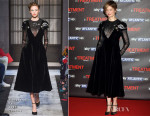 Alba Rohrwacher In Schiaparelli Couture - 'In Treatment 2' Rome Premiere