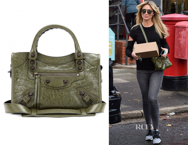 Alex Gerrard's Balenciaga Classic Mini City leather tote